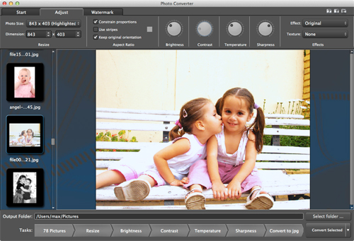 Photo Converter is a handy, inexpensive and powerful photo software to enhance multiple images and photos in a batch process.