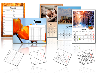 Create your own calendar featuring your favorite photos