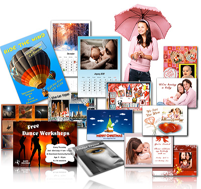 Perfect solution for all your design projects, including greeting cards, invitations, calendars, poster, CD / DVD cover, flyers, handout, announcements, scrapbooks, certificates, place cards, collages, gift coupons, school projects, photo cards