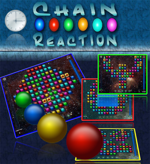 Collect the color bubbles on the field by combining them into chains to enter the next level, and create the longest chain ever to get the highest score.