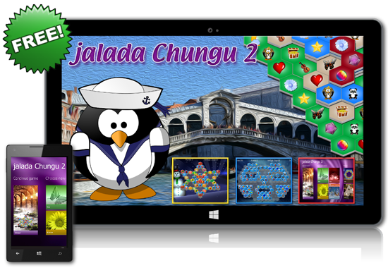 The puzzle game jalada Chungu 2 fascinates your imagination, trains your attention and brings relaxation to your tense feelings.