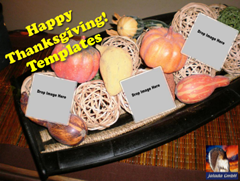 Thanksgiving Templates for Collage