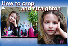 How to crop and straighten a photo with Image Dream