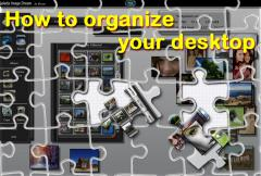 How to organize your desktop with Image Dream