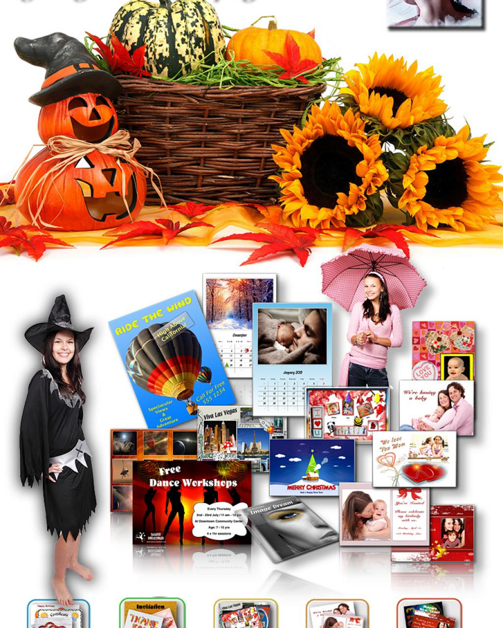 jalada Collage 2018 - Autumn and Halloween Theme