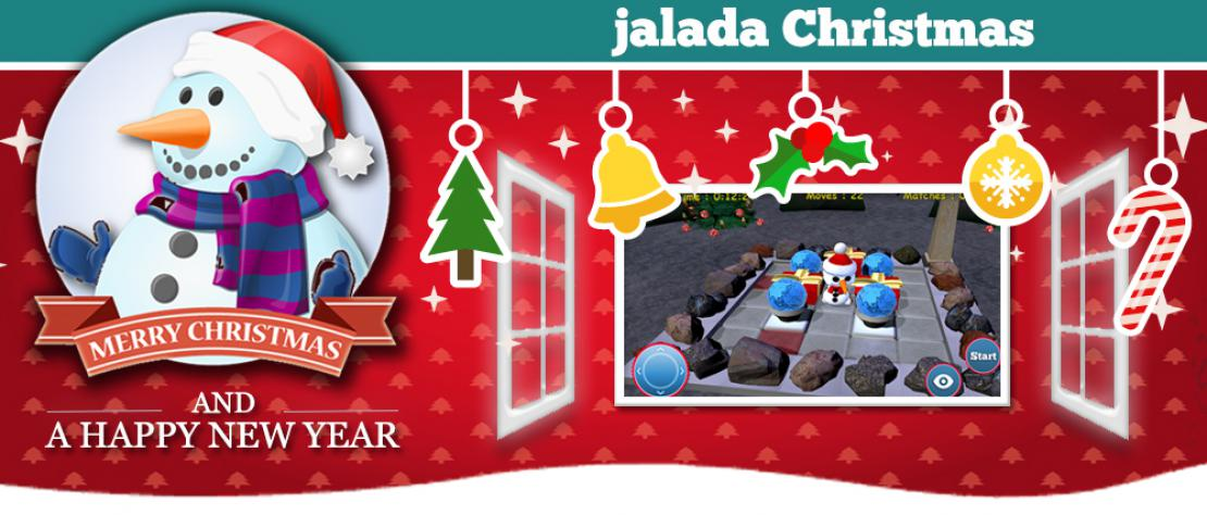 jalada Christmas 2016 - The reflective game fun for Christmas and beyond, all in 3D.
