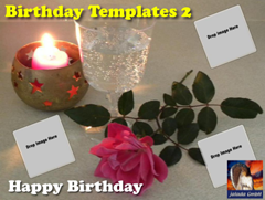 Happy Birthday Templates 2