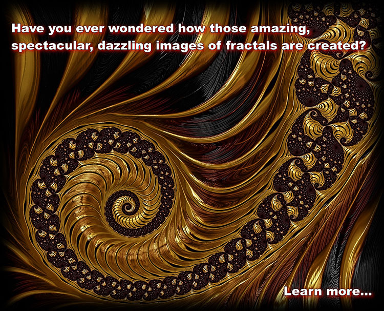 Enter the fantastic and mysterious world of fractal geometry