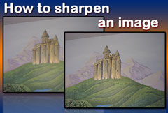 How to sharpen an image with Image Dream