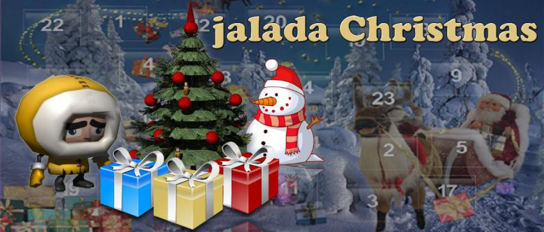 jalada Christmas - Each day of Advent opens up something interesting.